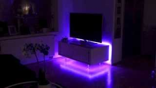 led tv backlighting installation. Black Bedroom Furniture Sets. Home Design Ideas
