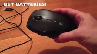 How to hook up wireless mouse