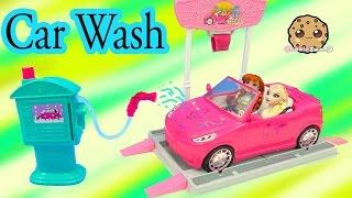 Malibu Barbie Car Wash