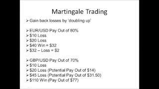 Day trading martingale strategy