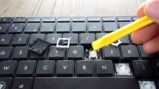 how to fix sticky keys on a toshiba laptop