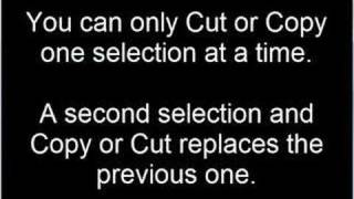how to cut paste on imac