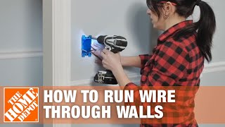How to install a new ceiling light fixture from scratch for How to fish wire through ceiling