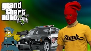 Brand New Car Ramming Their Butts Gta V Funny Moments