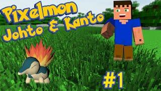 The kanto world pixelmon in kanto minecraft map ep 1 - Pixelmon ep 1 charmander ...